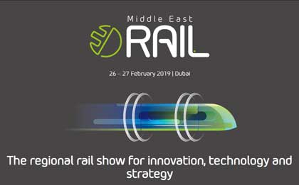 Conferencia y exposición comercial Middle East Rail 2019