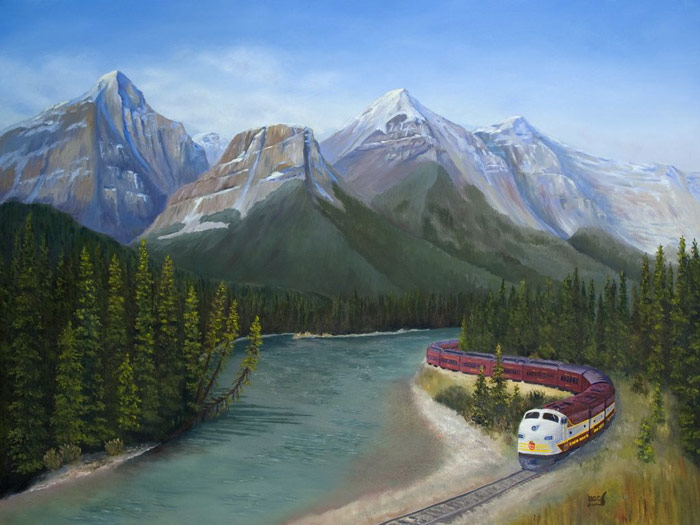 "Brent Ciccone, ""Royal Canadian at Mourant curve"""